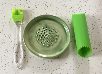 Minty Green Grater